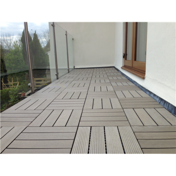 interlocking decking tile chocolate